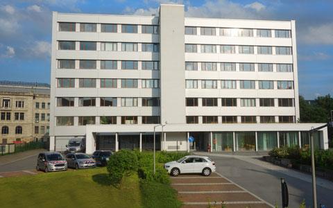 Praxis TEAG Geschäftsgebäude